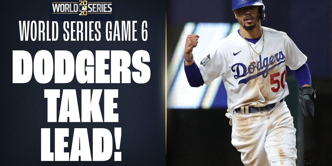 Dodgers take lead in World Series Game 6 after Rays' Blake Snell is taken out of game by Kevin Cash!
